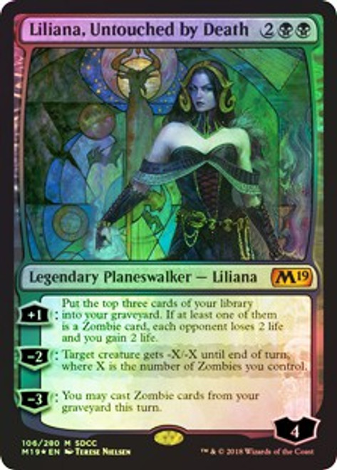 MtG Promo Cards Promo Liliana, Untouched by Death [SDCC 2018]