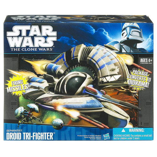 Star Wars 2010 Separatist Droid Tri-Fighter Vehicle