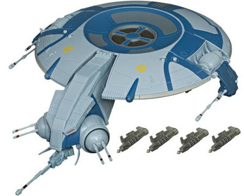 Star Wars The Clone Wars 2010 Separatist Droid Gunship 3.75-Inch Vehicle