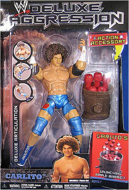WWE Wrestling Deluxe Aggression Series 7 Carlito Cool Action Figure
