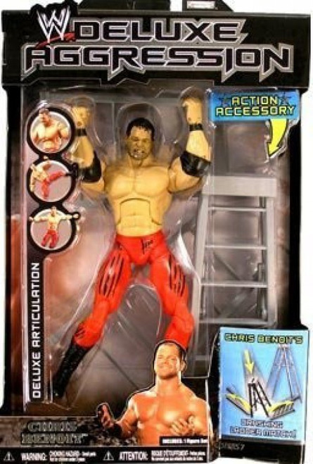 WWE Wrestling Deluxe Aggression Series 7 Chris Benoit Action Figure