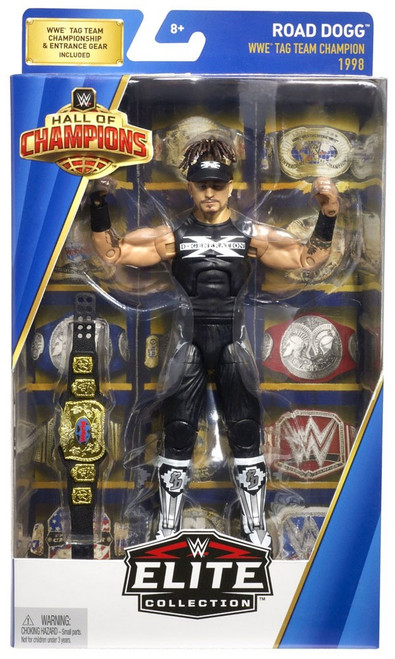 WWE Wrestling Elite Hall of Champions Road Dogg Action Figure