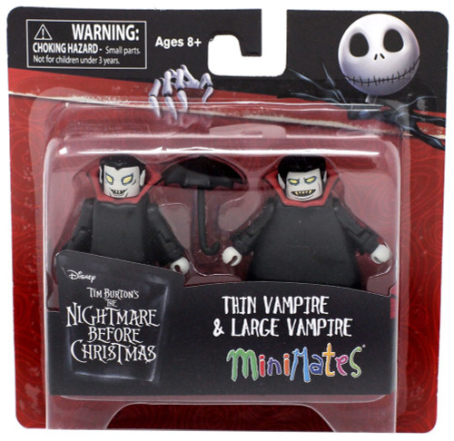 Nightmare Before Christmas Minimates Thin Vampire & Large Vampire Minifigure 2-Pack
