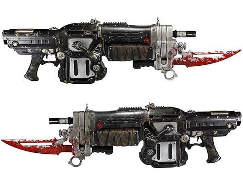 NECA Gears of War 3 Retro Lancer 36-Inch Prop Replica