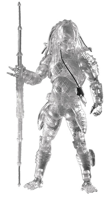 Predator 2 City Predator Exclusive Action Figure [Cloaked Version]