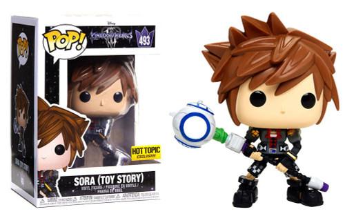 Funko Kingdom Hearts POP! Disney Sora Exclusive Vinyl Figure #493 [Toy Story]