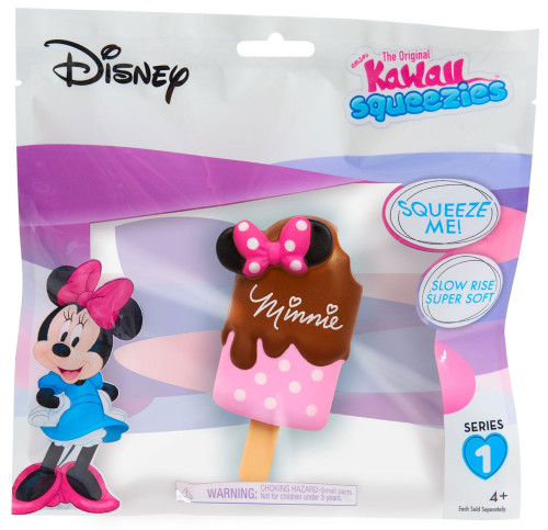 Disney The Original Kawaii Squeezies Series 1 Minnie Popsicle Squeeze Toy