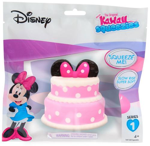 Disney The Original Kawaii Squeezies Series 1 Minnie Cake Squeeze Toy