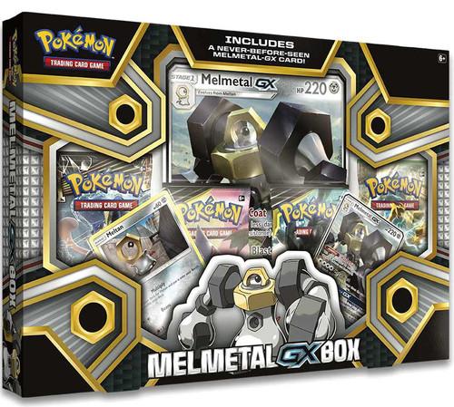 Pokemon Trading Card Game Sun & Moon Melmetal-GX Box [4 Booster Packs, 2 Promo Cards & Oversize Card]