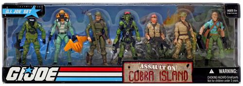 GI Joe Assault on Cobra Island Action Figure Boxed Set
