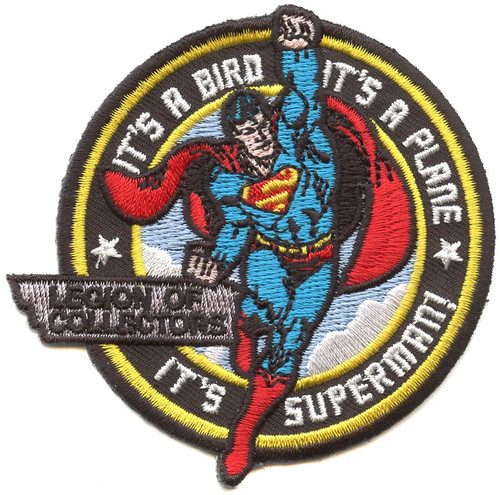 Funko DC Superman Exclusive Patch