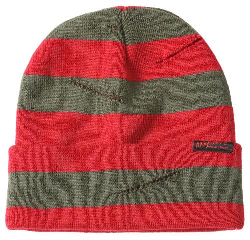 A Nightmare on Elm Street Freddy Krueger Slashed Sweater Beanie
