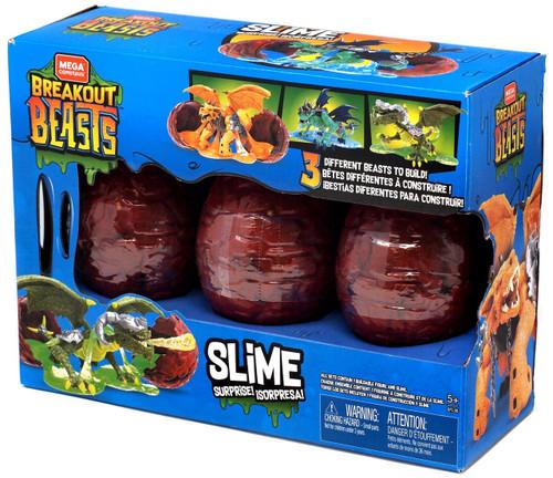 Mega Construx Slime Surprise! Exclusive 3-Pack Set [Blue Box]