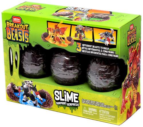 Mega Construx Slime Surprise! Exclusive 3-Pack Set [Green Box]