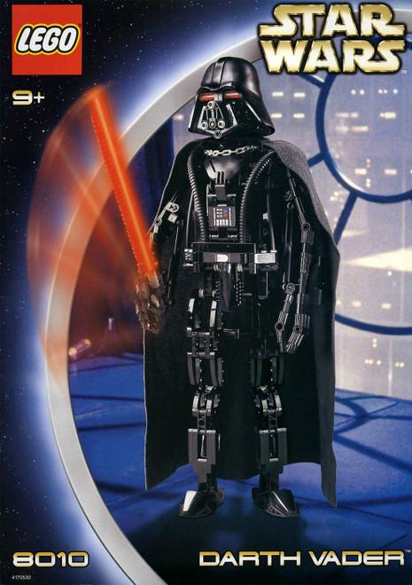 LEGO Star Wars The Empire Strikes Back Darth Vader Set #8010 [Moderate shelf wear]