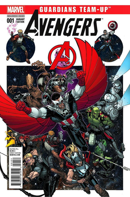 Marvel Comics Avengers Guardians Team Up #1 Comic Book [Collector Corps Variant Edition]