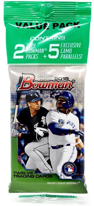 MLB Topps 2019 Bowman Baseball Trading Card VALUE Pack [12 Cards]