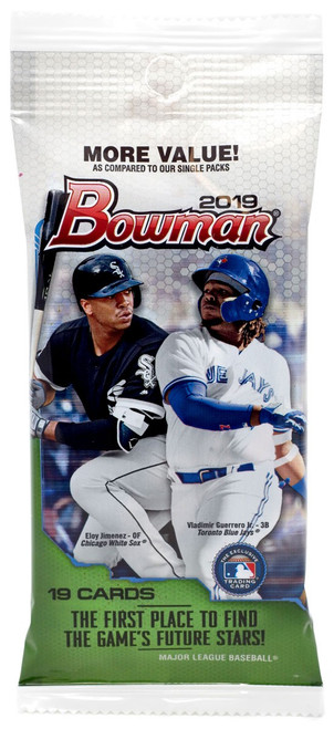 MLB Topps 2019 Bowman Baseball Trading Card JUMBO Pack [19 Cards!]