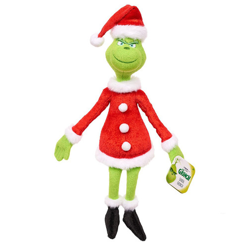 Dr. Seuss The Grinch 8-Inch Plush Toy [Santa Outfit]