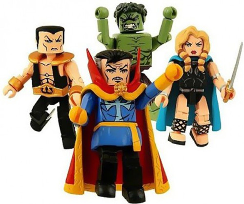Minimates The Defenders Boxed Set 4-Pack [Limited to 3000!]