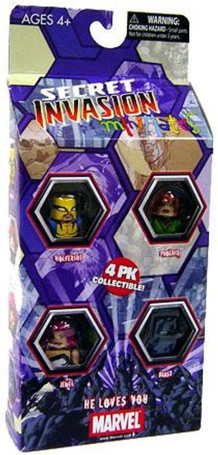 Marvel Minimates Exclusives Secret Invasion Exclusive Minifigure 4-Pack