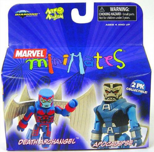 Minimates Series 19 Apocalypse & Death Archangel Mini Figure 2-Pack