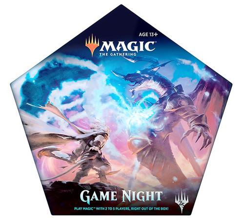 MtG Trading Card Game Game Night Starter Decks Set [5 Exclusive Cards!]
