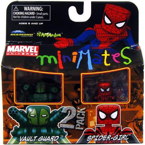Marvel Universe Minimates Series 30 Vault Guard & Spider-Girl Minifigure 2-Pack