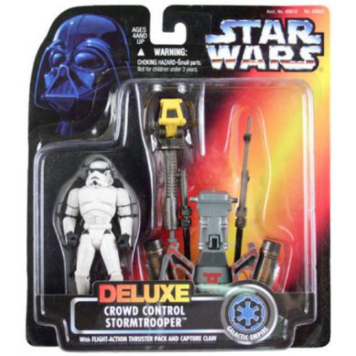 Star Wars Expanded Universe Power of the Force POTF2 Crowd Control Stormtrooper Action Figure