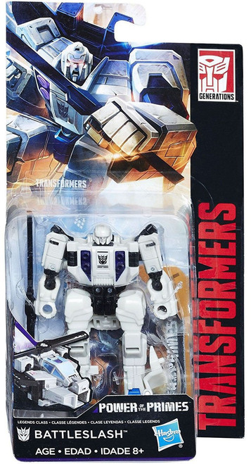 Transformers Generations Power of the Primes Battleslash Legend Action Figure [Damaged Package]