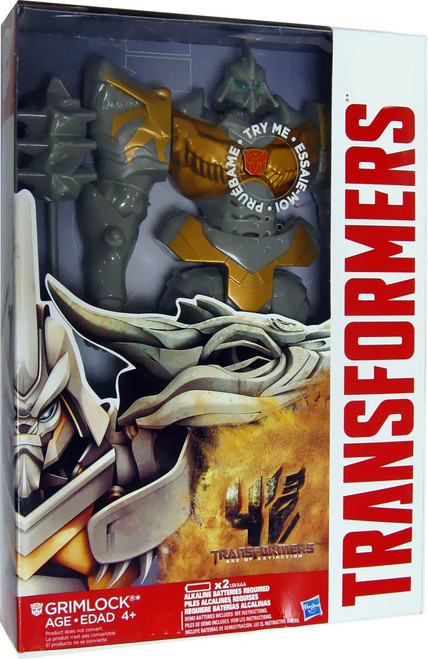 "Transformers Age of Extinction Titan Heroes Grimlock Exclusive 12"" Action Figure [Damaged Package]"
