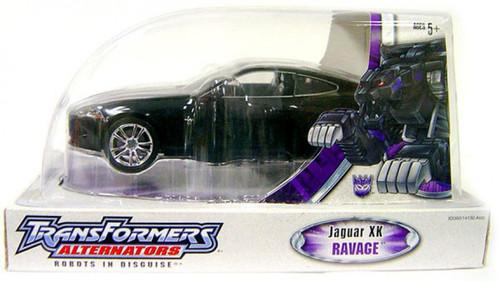 Transformers Alternators Ravage Jaguar XK Action Figure