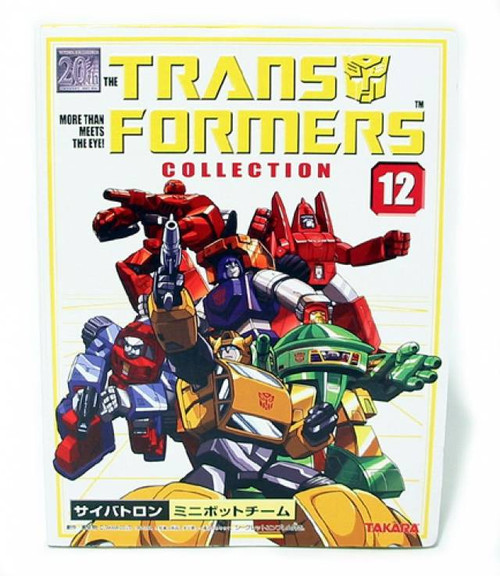 Transformers Japanese Collector's Series Mini Bots Action Figure #12