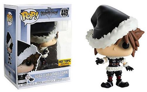 Funko Kingdom Hearts POP! Disney Sora Exclusive Vinyl Figure #449 [Christmas Town]