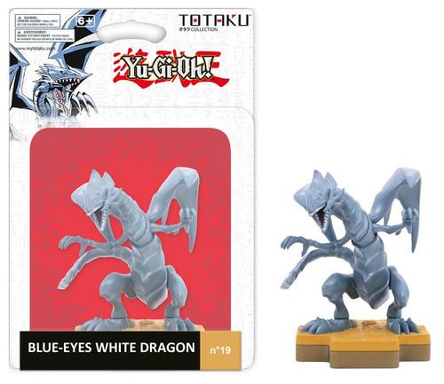 YuGiOh TOTAKU Collection Blue-Eyes White Dragon Vinyl Figure #19