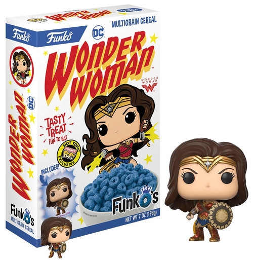 FunkO's DC Wonder Woman Exclusive 7 Oz. Breakfast Cereal