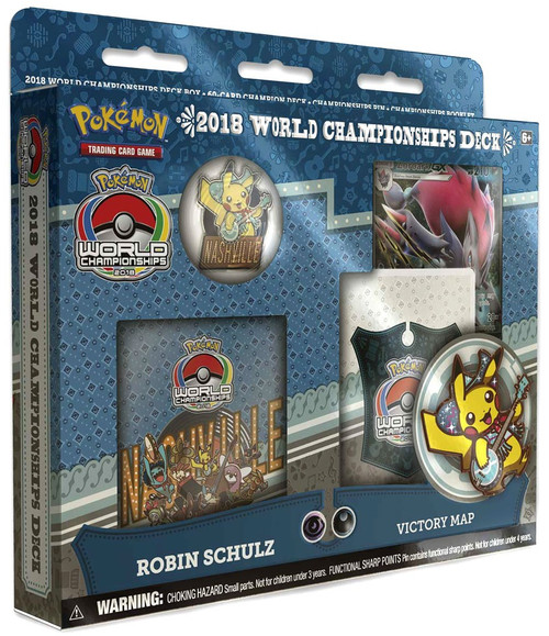 Pokemon Trading Card Game 2018 World Championships Robin Schulz Starter Deck [Victory Map]