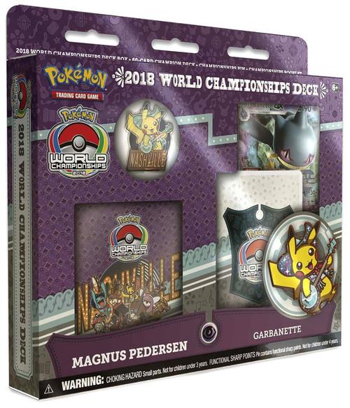 Pokemon Trading Card Game 2018 World Championships Magnus Pedersen Starter Deck [Garbanette]