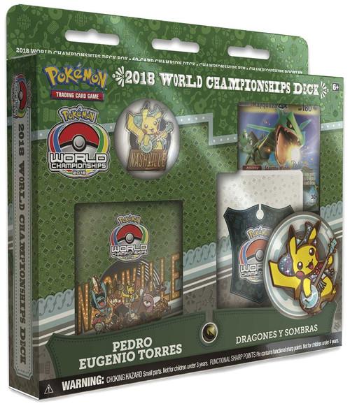 Pokemon Trading Card Game 2018 World Championships Pedro Eugenio Torres Starter Deck
