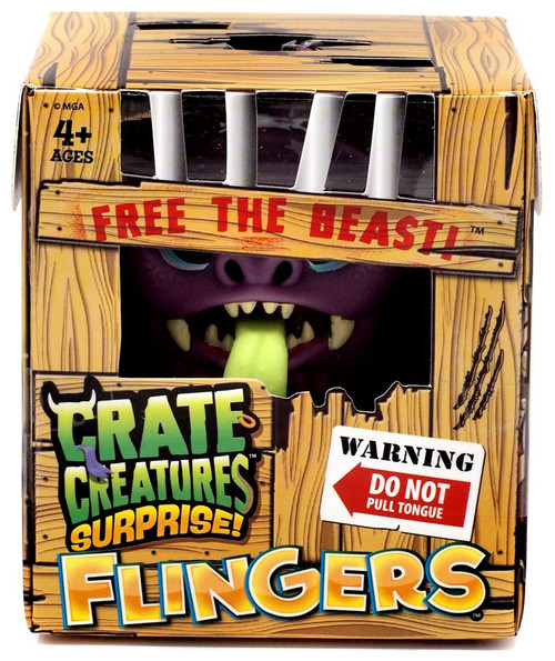 Crate Creatures Surprise! Flingers Guano Figure