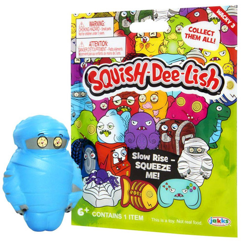 Squish-Dee-Lish Wacky Series 3 Mystery Pack