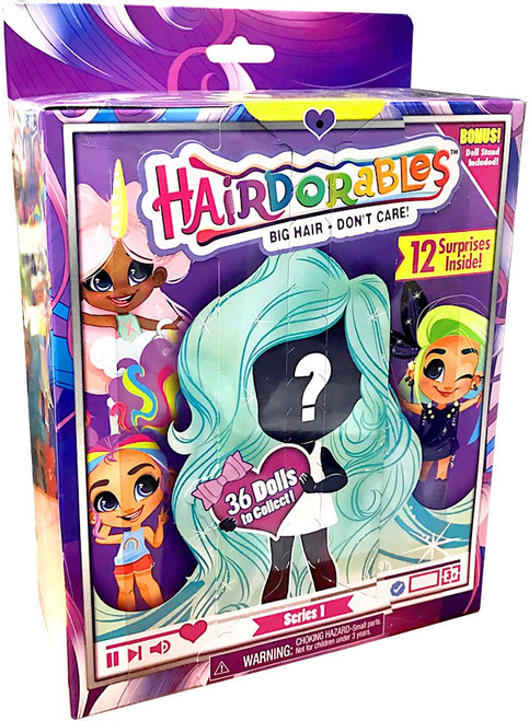 Hairdorables Series 1 Doll Exclusive Mystery Pack [12 Surprises Inside! (Includes Doll Stand!)]
