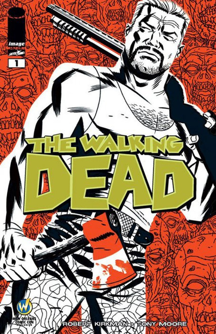 Image Comics The Walking Dead #1 Comic Book [Wizard World New Orleans Variant Cover]