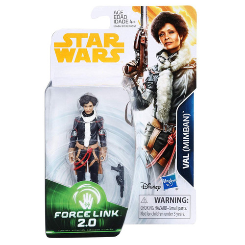 Star Wars Solo Force Link 2.0 Val (Mimban) Action Figure