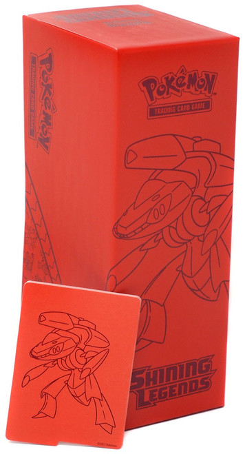 Pokemon Trading Card Game Shining Legends Genesect Collector's Box [Red]