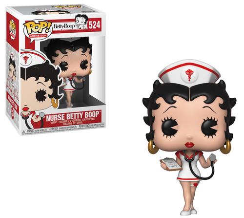Funko POP! Animation Nurse Betty Boop Vinyl Figure #524
