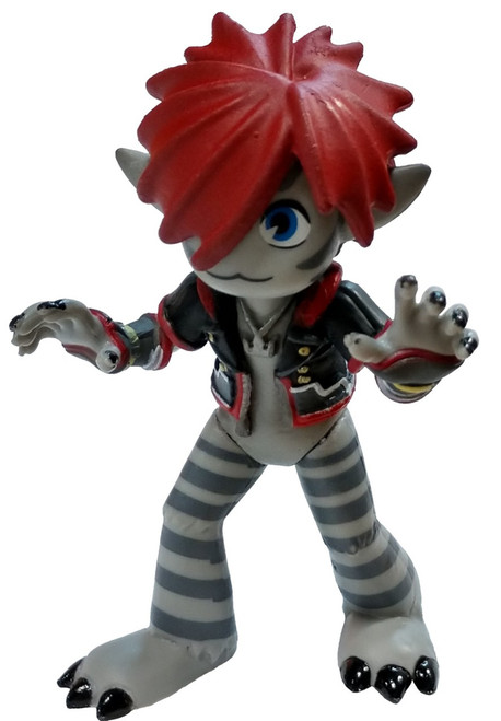 Funko Disney Kingdom Hearts III Sora (Gray) 1/12 Mystery Mini [Monsters Inc. Loose]