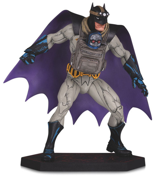 Designer Series Dark Nights: Metal Batman With Baby Darkseid 6.1-Inch Statue