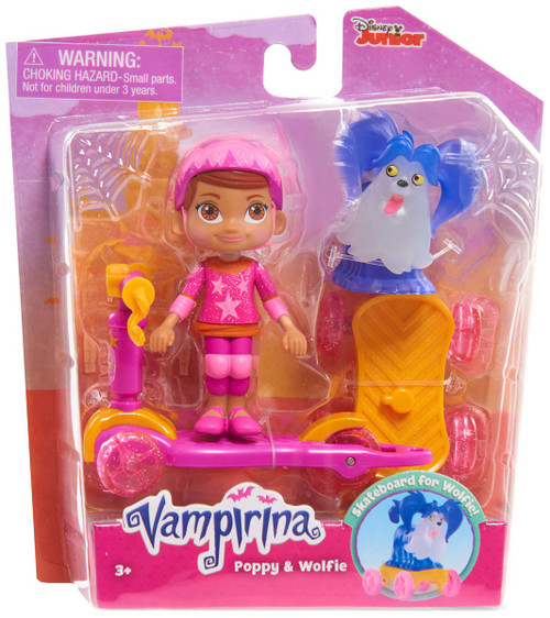 Disney Junior Vampirina Poppy & Wolfie Figure