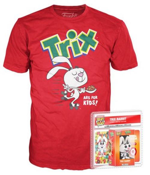 Funko General Mills POP! Ad Icons Trix Rabbit Exclusive Mini Vinyl Figure & T-Shirt [Youth Medium]